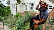 The paralysed tree surgeon making a comeback