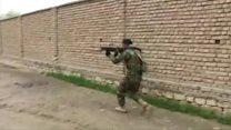 Heavy gun battle on Kunduz streets