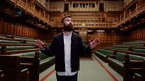 Behind the scenes in Parliament