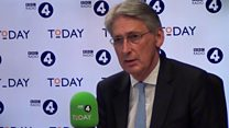Hammond: 'I am going to defend my party'