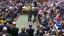 The moment Tory MP defects to Lib Dems