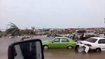 Hurricane Dorian floods airport