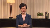 Lam's four steps to ease Hong Kong tensions