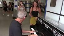 Teenager's Tube opera performance goes viral