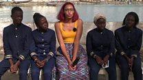 De jeunes Saint-Louisiens proposent des solutions à la pollution des déchets plastiques