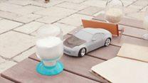 هل يمكن أن نصنع قطع سيارات من الأخشاب؟
