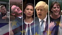 Brexit: Five days in five minutes