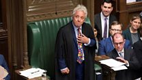 Commons Speaker stands down