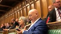 MPs sing hymn in Parliament shut down protest