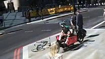 Hunt for cyclist who headbutted pedestrian to ground