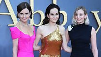 Downton Abbey stars feel the pressure of movie