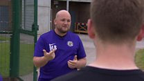 'Football saved my life' after depression.
