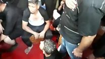 Footage shows chaos after Iraq stampede