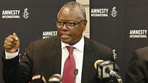 """""""Aujourdhui, il n'est plus acceptable de voir des africains s'en prendre à d'autres africains comme en Afrique du Sud"""""""