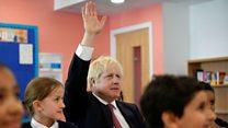 'Don't get drunk' Boris Johnson tells school children
