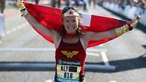 Hospice honours 'Wonder Woman' runner Aly Dixon