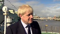 Johnson says he did not lie to Queen