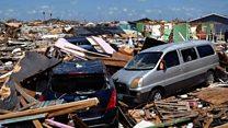 Search teams scour Bahamas wreckage