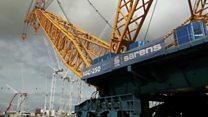 Biggest crane set to start work