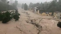 Deadly floods and a tornado in Spain