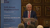 Bercow: Parliament will reject no-deal forcefully