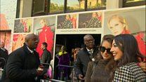 اعتراض فعالان اقلیمی در هفته مد لندن