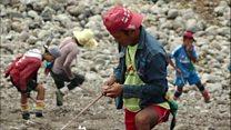 کارگران میانمار، بینصیب از بزرگترین معدن یشم جهان