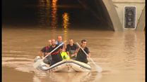 Huge rescue effort follows Spain floods