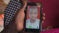 'I had to leave my son behind to save my baby'
