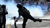 Clashes in Honduras on Independence Day