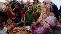 कश्मीर में मौतों पर अलग-अलग दावे