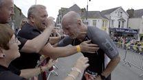 Gareth Thomas 'breaks HIV stigma' at Ironman Wales