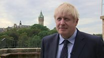 Johnson 'can see shape of Brexit deal'