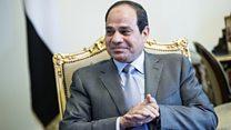 كيف رد السيسي على اتهامات محمد علي؟