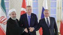 گفتگوی سه جانبه ایران، روسیه و ترکیه در مورد آینده سوریه