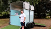 Horse box turned into Army veteran wellbeing hub
