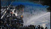 香港デモ、100日を100秒で振り返る