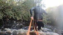 'It was an up-river assault'