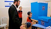 رای گیری در انتخابات اسرائیل؛ بنیامین نتانیاهو برای بقای سیاسیاش تلاش میکند