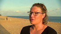 یک زن اهل کلرادو مسیر دریایی میان بریتانیا و فرانسه را چهار بار بدون توقف شنا کرد
