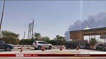 سعودي کې د تېلو پر چاڼځیو'د ایران له خاورې برید' شوی