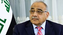 Danger of new Middle East war high, Iraq PM warns