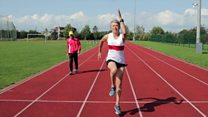 Triathlete 'wants to dispel age stereotypes'