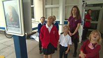 Children urge mums to stub it out