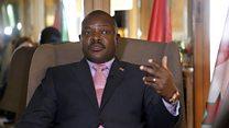 "Prezida Nkurunziza ""yohereje abaganira n'abatavuga rumwe nawe"""