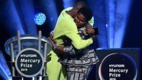 Mercury Prize winner shares applause with Mum