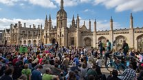 Climate protesters take to England's streets