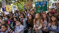دانشآموزان جهان علیه تغییرات اقلیمی