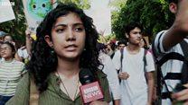 दिल्ली में भी जलवायु परिवर्तन को लेकर प्रदर्शन