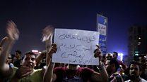 گزارش میدانی خبرنگار بیبیسی از اعتراضهای قاهره